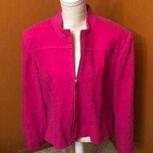Louben of Canada lined wool blazer/coat